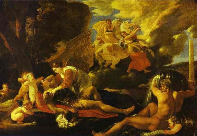 Никола Пуссен. «Ринальдо и Армида». 1625 ...: smalti.ru/art/pussen-rinaldo-armida